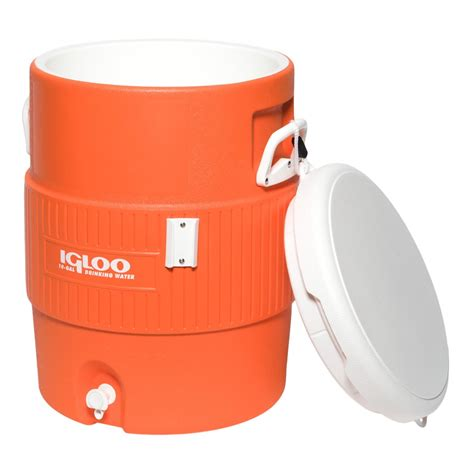 5 gallon seat pad igloo coolers 10 gallon seat top water jug with cup