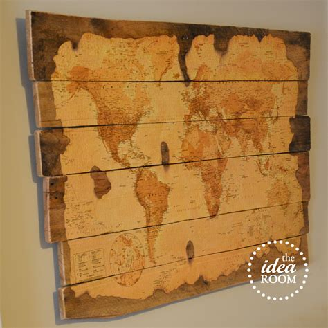 painting pallet tips and ideas wood pallet map tutorial the idea room
