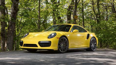 Porsche 911 Turbo Gelb by Porsche 911 Turbo Coupe Gelb Supercar Hintergrundbilder