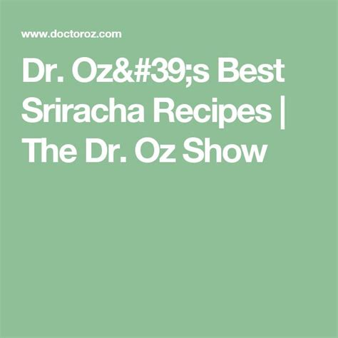 dr ozs favorite superfoods the dr oz show 718 best images about dr oz recipes on pinterest