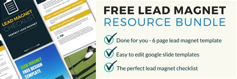 Free Lead Magnet Resource Bundle Linkedin Golf Marketing University Lead Magnet Template