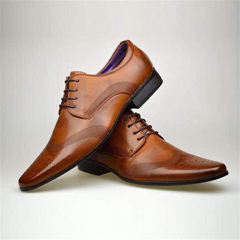 Cabaco Formal Mens Shoe Brown mens fashion new brown leather shoes formal smart dress uk
