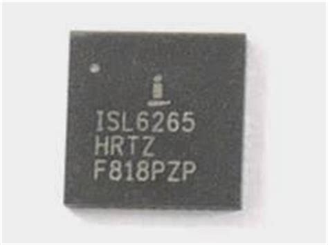 Isl6265a adie dkhaz book of laptop knowing ic function by marking