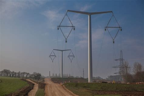 Pylon Design Competition National Grid | national grid unveils first t pylon built in uk the