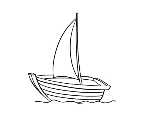 how to draw a boat from the back how to draw a boat in a few easy steps easy drawing guides