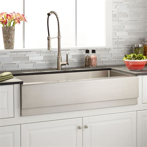 42 inch stainless steel farmhouse sink 30 beautiful apron farmhouse sink