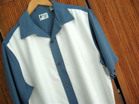 Mens Planel Shirt L S Contempo nwt mens vintage silk retro bowling shirt 60s panel cool