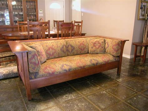 prairie style sofa stickley prairie sofa my style pinterest
