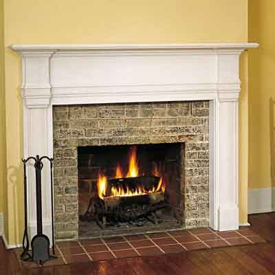 install a mantel 17 fireplace upgrades this house