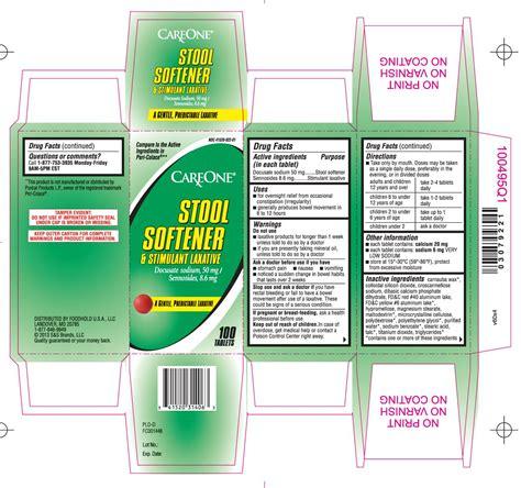 Stool Softener And Stimulant Laxative by Stool Softener And Stimulant Laxative Tablet Care One