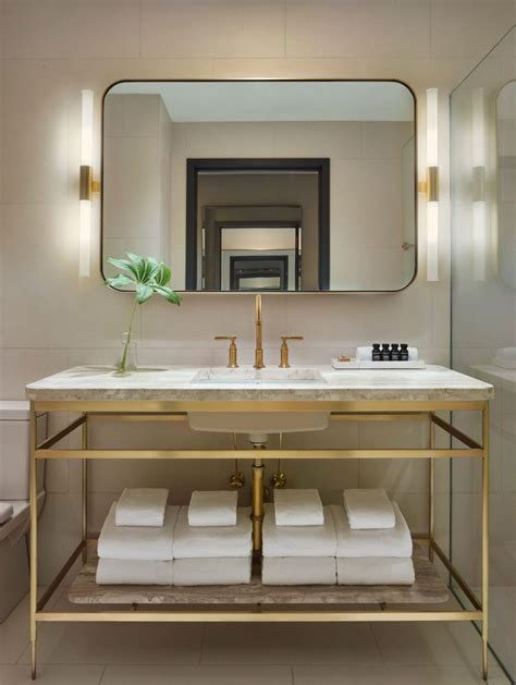 hotel bathroom mirrors 11 howard hotel opens in new york new york vanities and