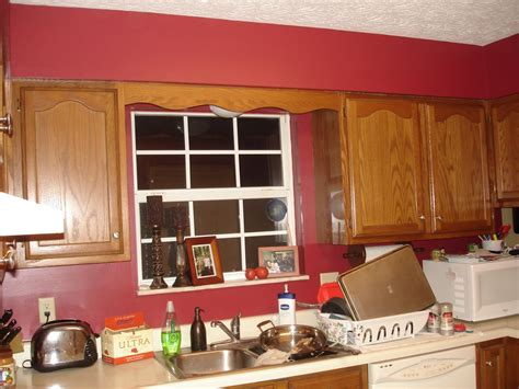 red kitchen paint ideas ham towne food family everything else another red