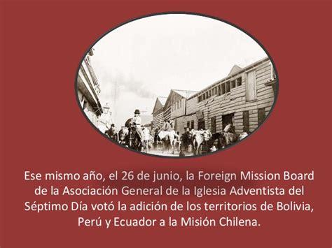 historia de la iglesia adventista del sptimo da historia de la iglesia adventista en el per 1898 1920