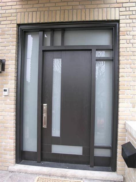 Modern Entry Doors by Craftsman Modern Front Door 1212