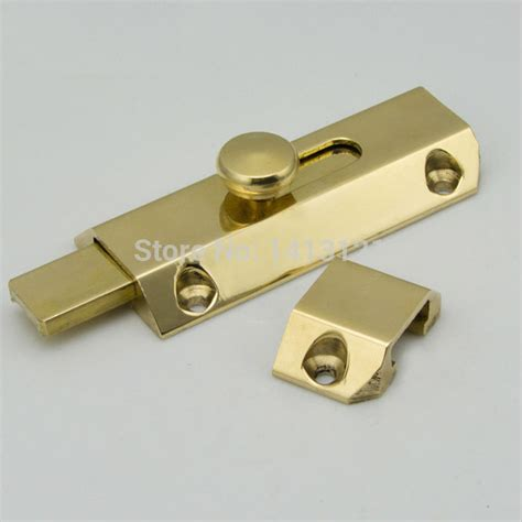 Handmade Hardware - free shipping 3 inch door bolt wooden hardware window lock