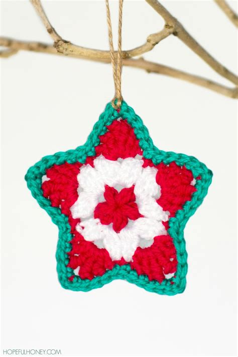 star christmas ornament crochet pattern favecrafts com