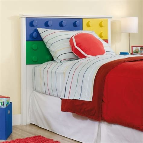 White Soft Headboard by Block Panel Headboard In Soft White 418388