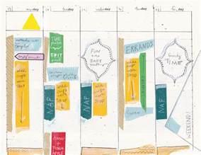 Planner Design Templates by 5 Day Work Week Diy Planner Template