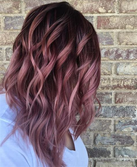 chocolate colored hair chocolate mauve hair colors for 2017 best hair color