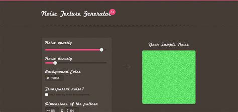 pattern generator noise 12 online tools to generate seamless background patterns