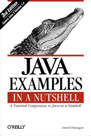 libro nutshell java exles in a nutshell 3e flanagan david o reilly libro hoepli it