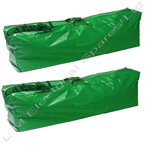 tree storage bag 2 x strong tree bag zip up sack storage up to 9ft trees ebay