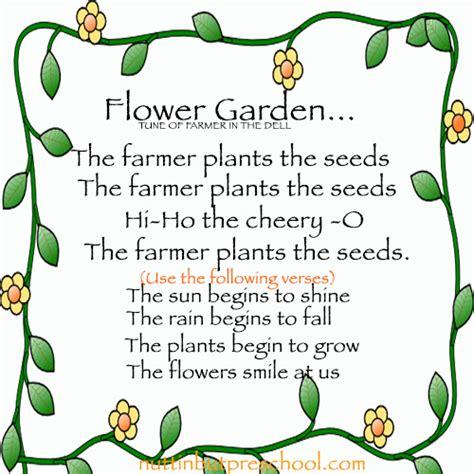 Songs Garden by Flower Garden Song Seed Growing Nuttin But Preschool