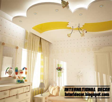 Best 10 creative kids room false ceilings design ideas