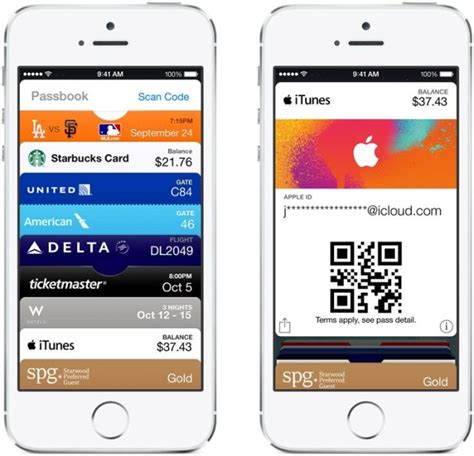 Adding Gift Cards To Passbook - apple brings itunes pass to the united states