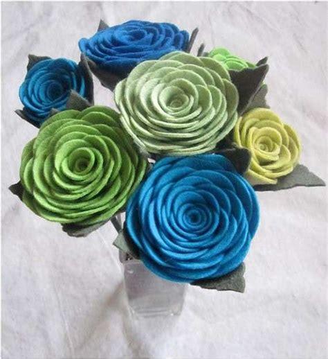 fiore di feltro fiori in feltro foto 9 33 tempo libero pourfemme