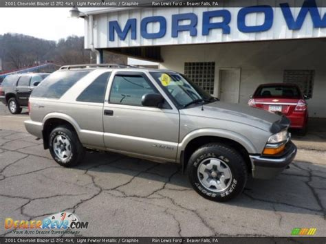 2001 chevrolet blazer ls 2001 chevrolet blazer ls zr2 4x4 light pewter metallic