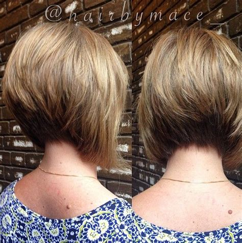 cut side hair into swimg 21 gorgeous stacked bob hairstyles short stacked bobs