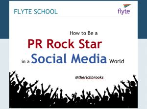 rock your presentation a new guide to speaking with books pr social media slides handouts flyte new media