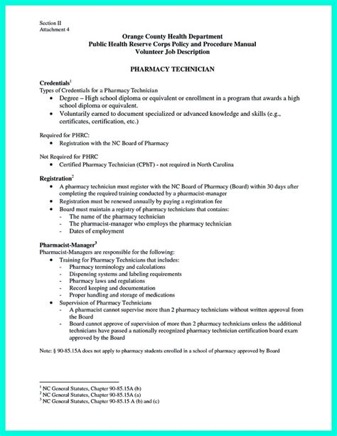 pharmacy technician resume sles what objectives to mention in certified pharmacy