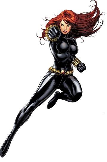 black widow character comic vine