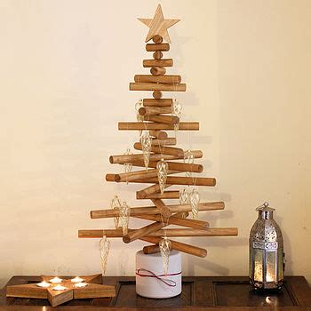 no assembly required christmas tree oak tree by a b furniture notonthehighstreet