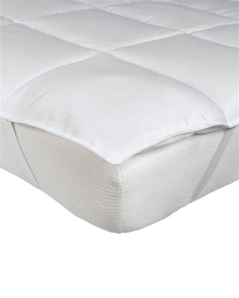 King Size Mattress Topper by Microfibre King Size Mattress Topper Homescapes