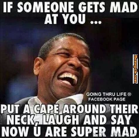 Why U Mad Meme - denzel washington put a cape on why you mad super mad
