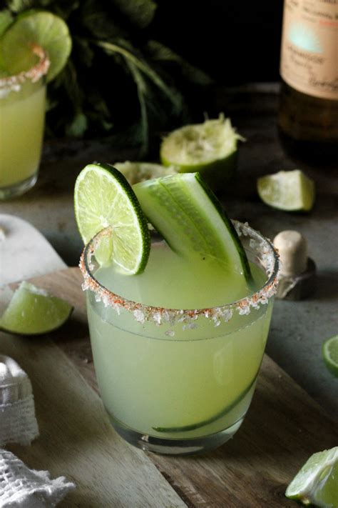 cucumber margarita recipe margaritaweek mint cucumber smoky jalapeno margarita