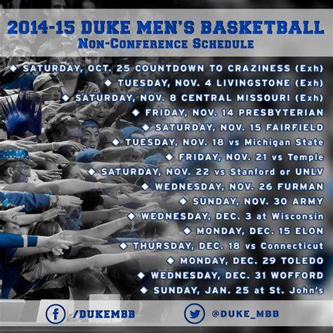 Calendario Escolar Ist 2014 Duke Basketball Schedule 2014 Printable New Calendar