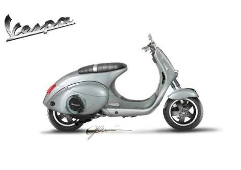 design vespa vespa dolcevita concept car body design