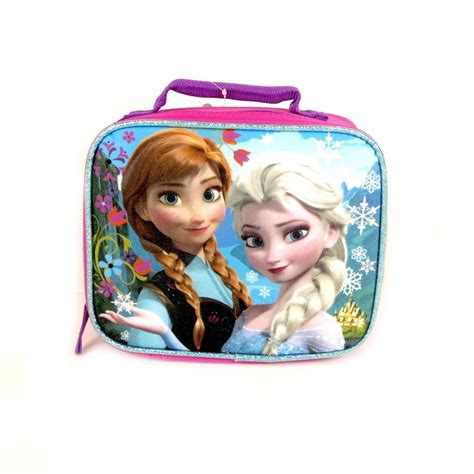 Disney Frozen Lunch Box Pink new disney frozen lunch tote bag elsa school work