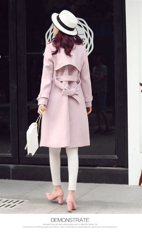 jaket import korea pink korean coat jyb331908pink