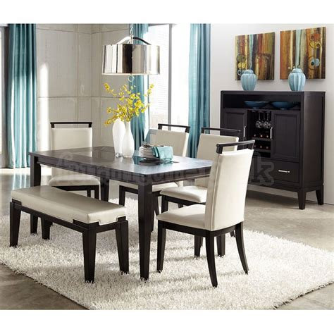 sectional dining bench chairs set dining room set w bench signature design by ashley furniture