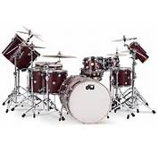 DW Drums In Cherry Satin Oil Image