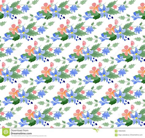 watercolor pattern for illustrator vector illustration seamless pattern with watercolor