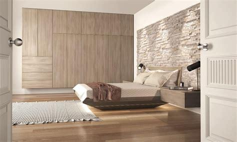 testate da letto letto in legno con testata in pietra idfdesign