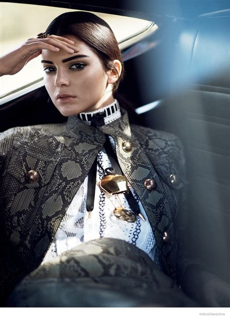 photoshoot vogue kendall jenner wears western inspired style in vogue feature