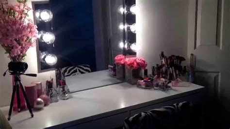 makeup mirror with lights and desk makeup vanity light diy makeup vanity lights makeup