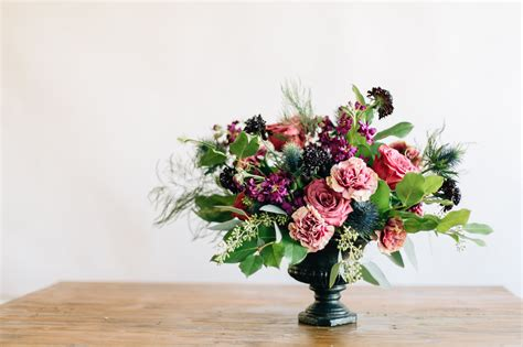 floral centerpiece how to diy a floral urn centerpiece a practical wedding